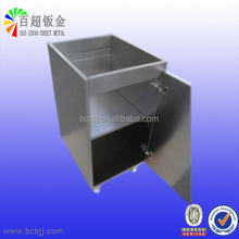 Custom stainless steel products assembled with Swivel Castors as customer's drawings, Stainless steel case