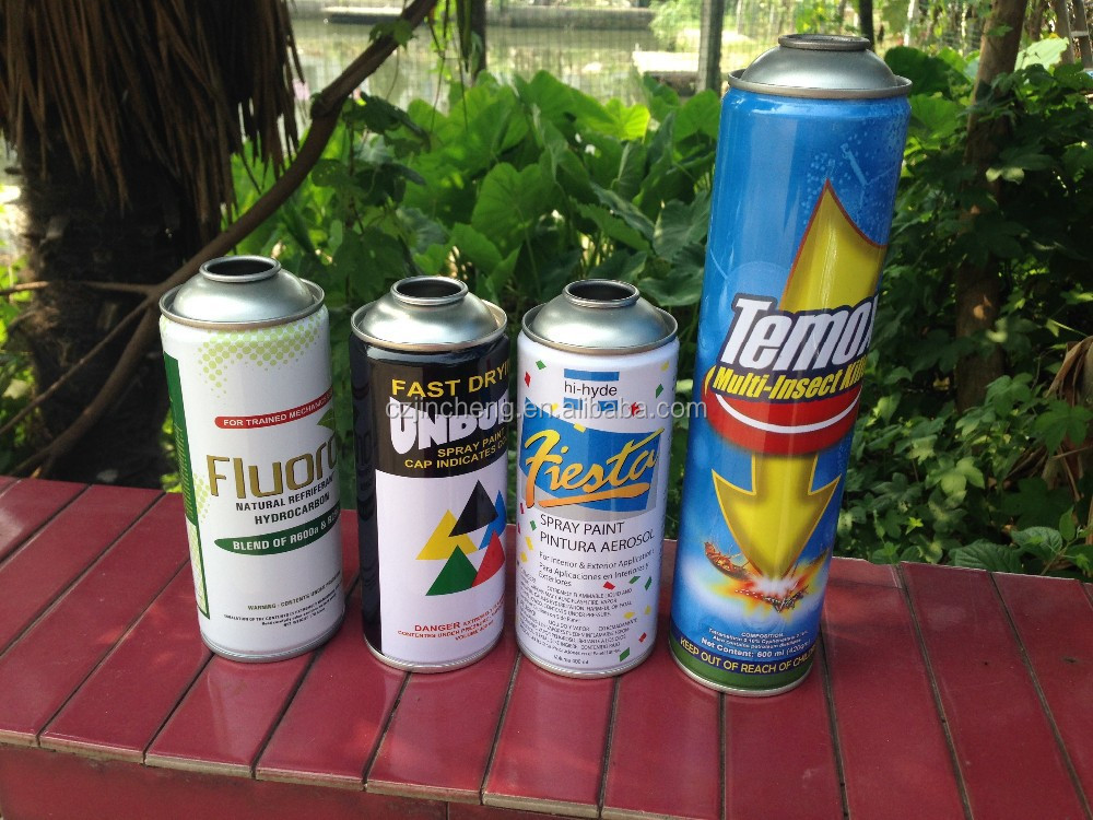 insecticide spray aerosol can/paint spray can/air freshener spray valve can