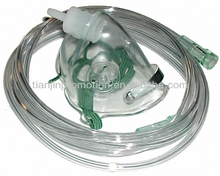 Disposable medical portable oxygen mask