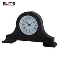 unique customized orient antique stand wooden desk clock