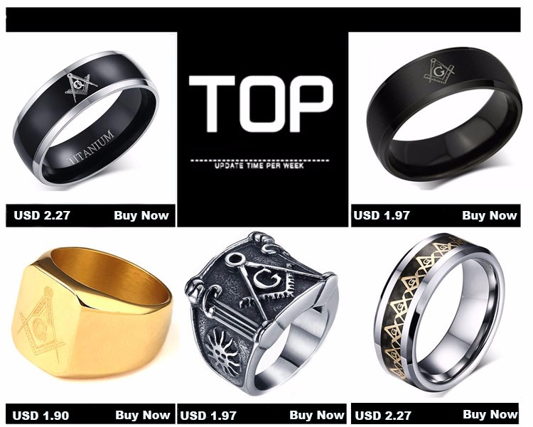 Ally Express Cheap Wholesale Ring Stainless Steel Gay Men Ring