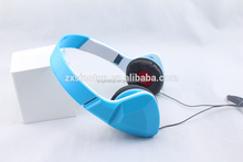 2016 Triangle Earcase Shape Foldable Wired Headphone With Good Quality