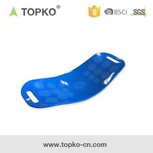 TOPKO Exercise Fit Board Yoga Twist Board with Resistance Tubes