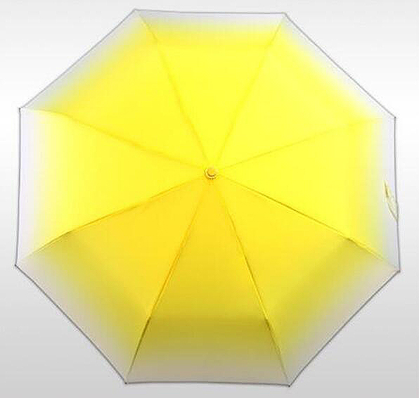 New fashion summer ulra-light Women's three folding sun/rain clear umbrella