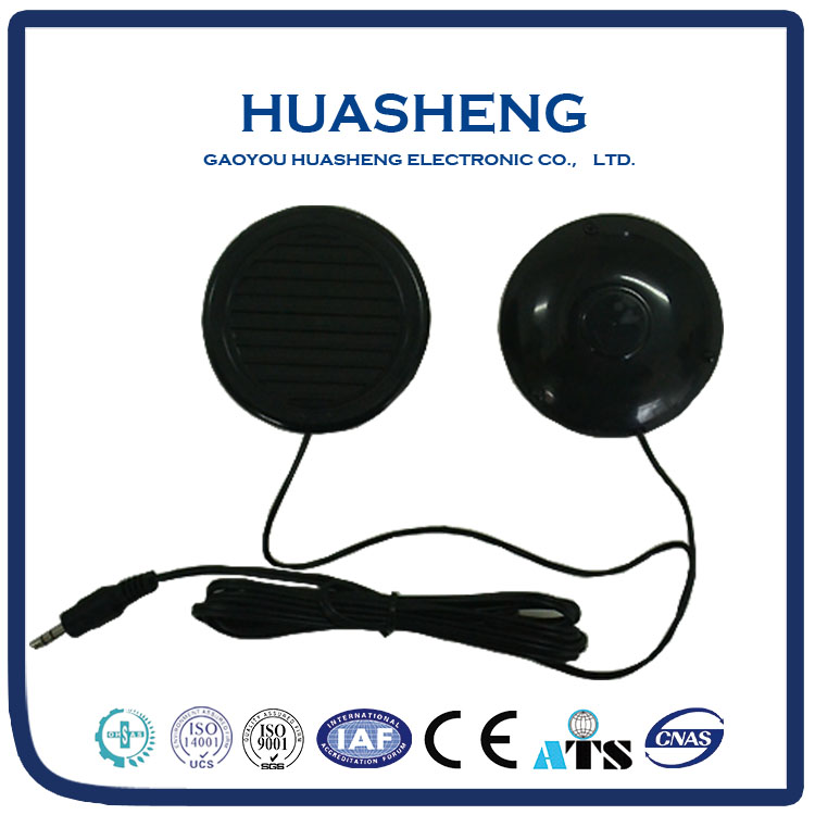 China 68mm black color round high performance 8ohm mini speaker