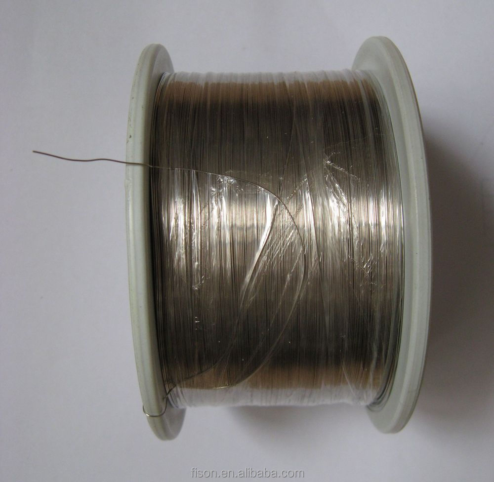 High pure nickel wire 0.25 mm heating wire Non resistive wire (0.36mm 27AWG)