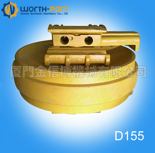 Bulldozer / Dozer D155 spare part track front idler assembly