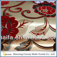 Made in china Cheap Flocking upholstery fabric stock lots