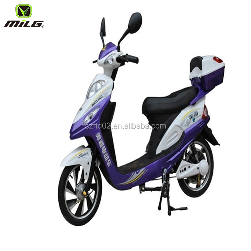 small electric motorcycle for mother and son 350w 48v mini no-folding electric scooter on sale electric bicycle