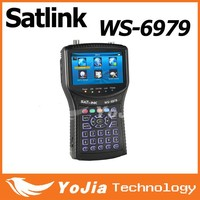 Original Satlink WS6979 DVB-S2&DVB-T2 Combo digital satellite finder meter ws-6979 Spectrum
