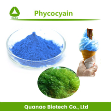 Food Grade Spirulina extract Phycocyain / Natural blue color powder