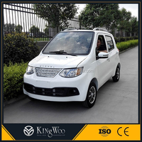 4 seats electric car sedan