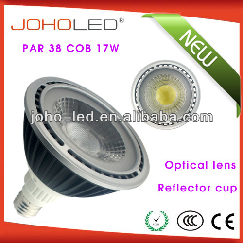 Commercial indoor lighting CRI>80 cob par38 15w lamp lamp led 220v e27