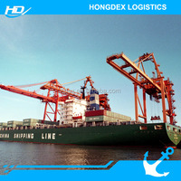 China Container Sea Shipping Price/rate form ningbo to Indonesia Jakarta