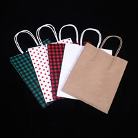 China manufacture high quality cheapest kraft paper shopping bag