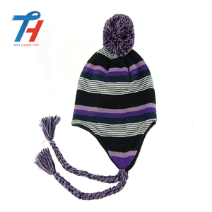 China good supplier newly design winter knitted kids wool caps