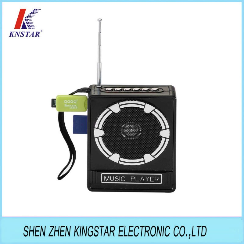 Hot sale mp3 player with FM radio