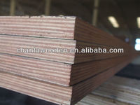18mm waterproof phenolic hardwood core brown black filmed plywood phenolic coated plywood