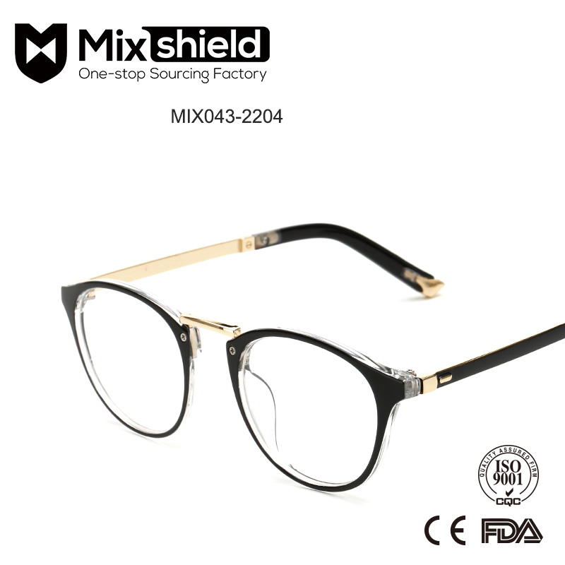 Classic Design Plastic Eyeglasses Frame Optical Glasses Equipment