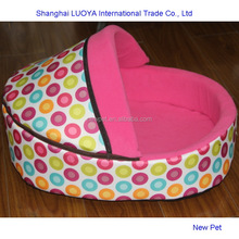 Factory supply hot-sale footprint rubber tent bed pvc coated dog house dog cage pet house