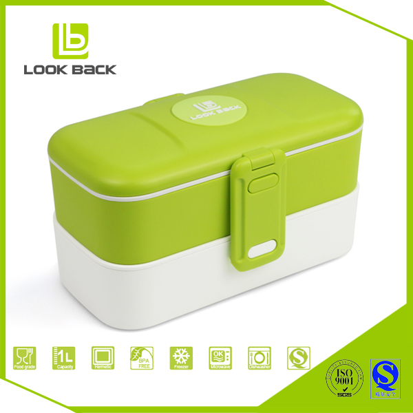 Japanese style BPA free rice lunch box