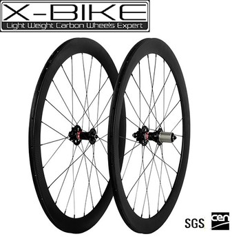 Super light XBIKE hot saling bike carbon disc wheelset