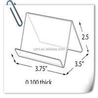 acrylic tablet security stand/computer tablet floor stand/ipad book bed stand