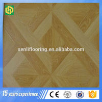 Popular waterproof 12mm laminate parquet flooring
