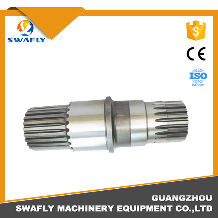 Shaft R220-5 Excavator Swing Motor Pinion Shaft Teeth 28*25