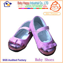 colorful hot pink girl kids hot sale fancy child nude shoes