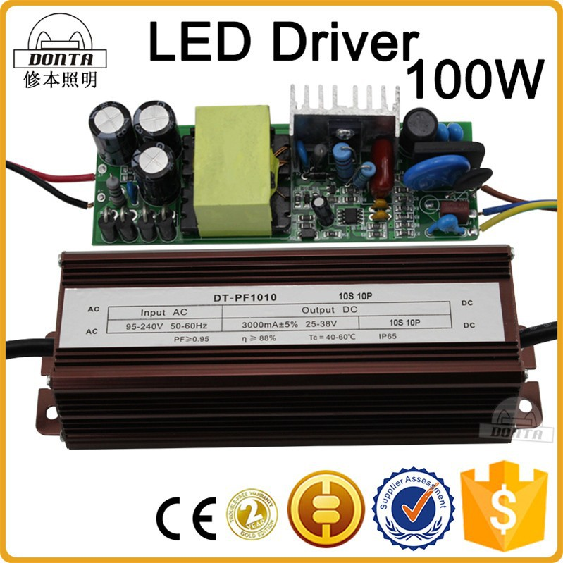 waterproof 100w led switching power supply 24v