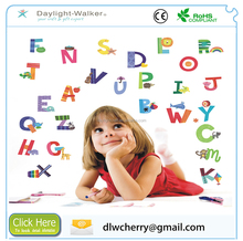 N005 Alphabet Letters waterproof home decor removable room vinyl kids wall stickers