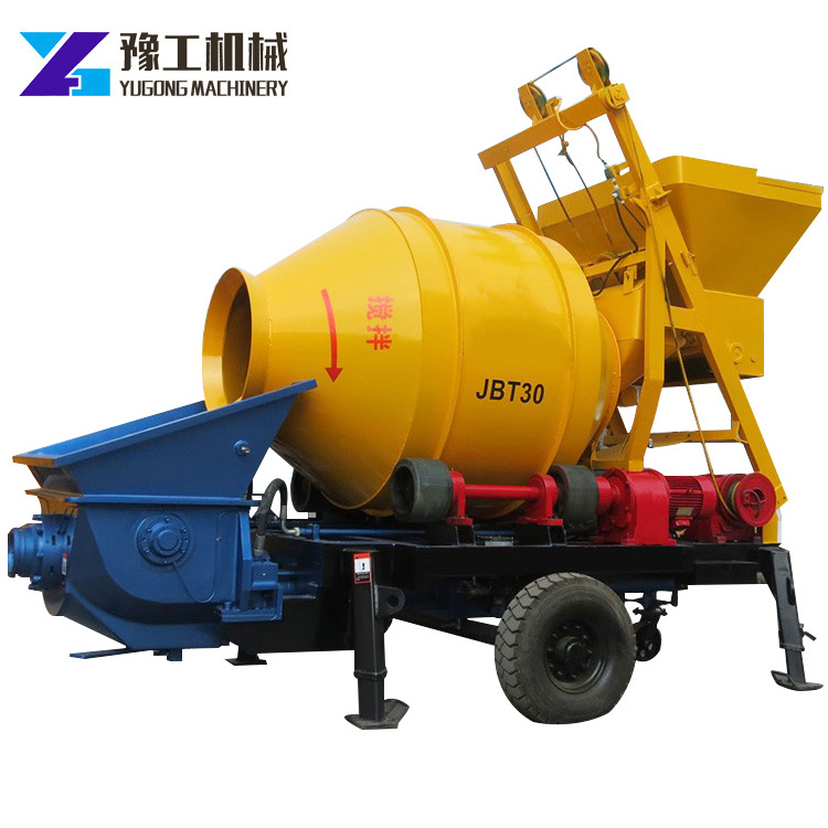 YG hydraulic concrete transit mixer pump for sale