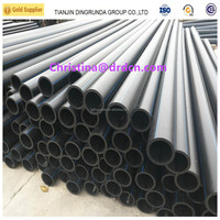 ISO90001 Certified new material pe pipe for factory use