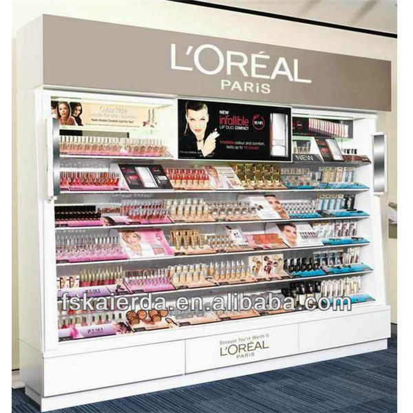 wholesale mac cosmetics display for retail store display stand