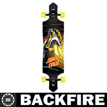 Backfire LONGBOARD Wave Hand DROP DOWN / THRU Skateboard CRUZER 9.5in X 42.4in Professional Leading Manufacturer
