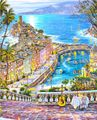 Handmade oil painting gold coast for painter