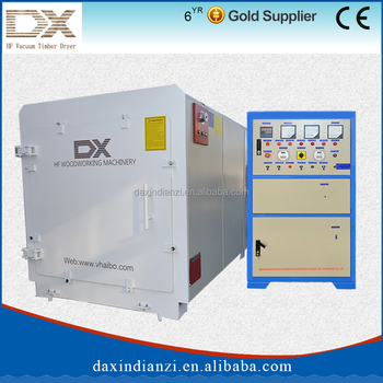 DX-8.0III-DX High frequency fast furniture wood drying kilns for sale