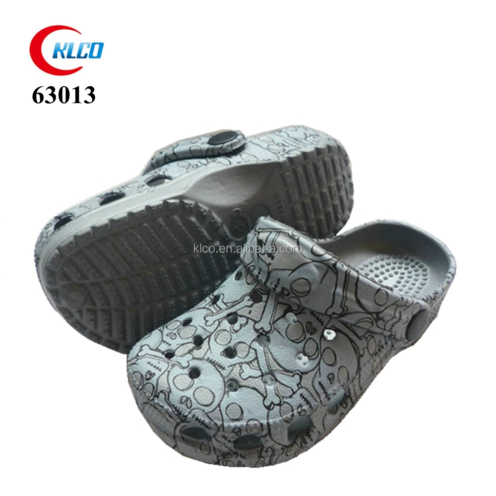 the newest designs boy kids casual shoes cheap beach clog shoes