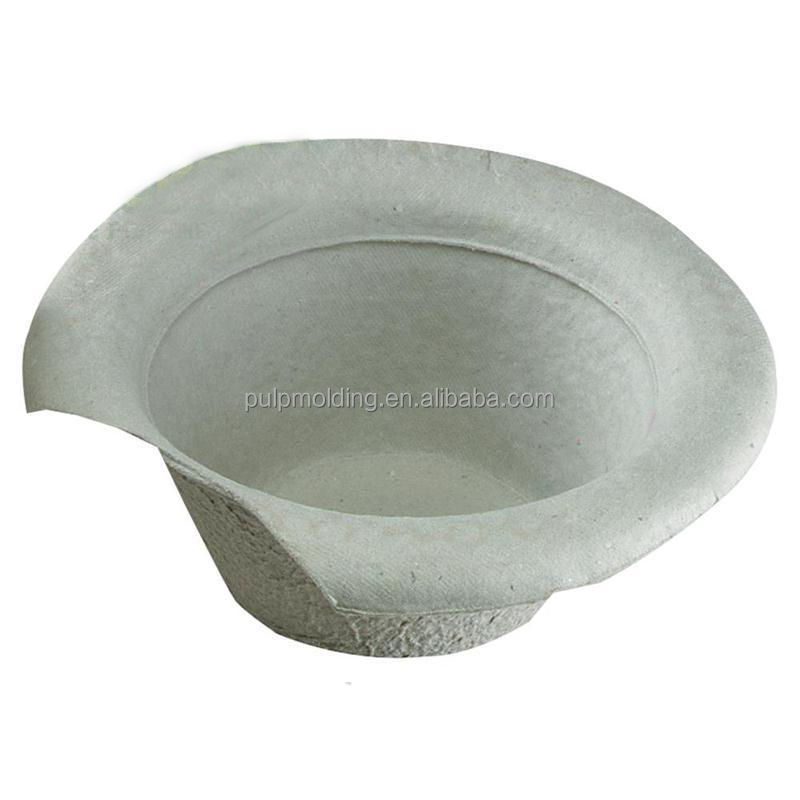 biodegradable medical pulp mold urinal pan