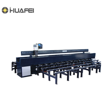 Flat butt welding machinery/Steel Plate Butt Joint Long Seam Welding Machine , Automatic Flat Butt Welding Machine