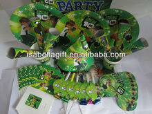 cartoon characters printing birthday party set for Kids