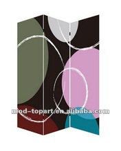 2012 best selling Folding wood screen