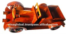 Handmade Wooden Vintager Toy Cars