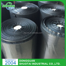 100% Virgin Material Agricultural Ground Cover Mesh Biodegradable Plastic Mulching Film For Garden Weed Control