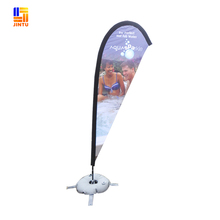market shopping advertising flags flying banner beachflag