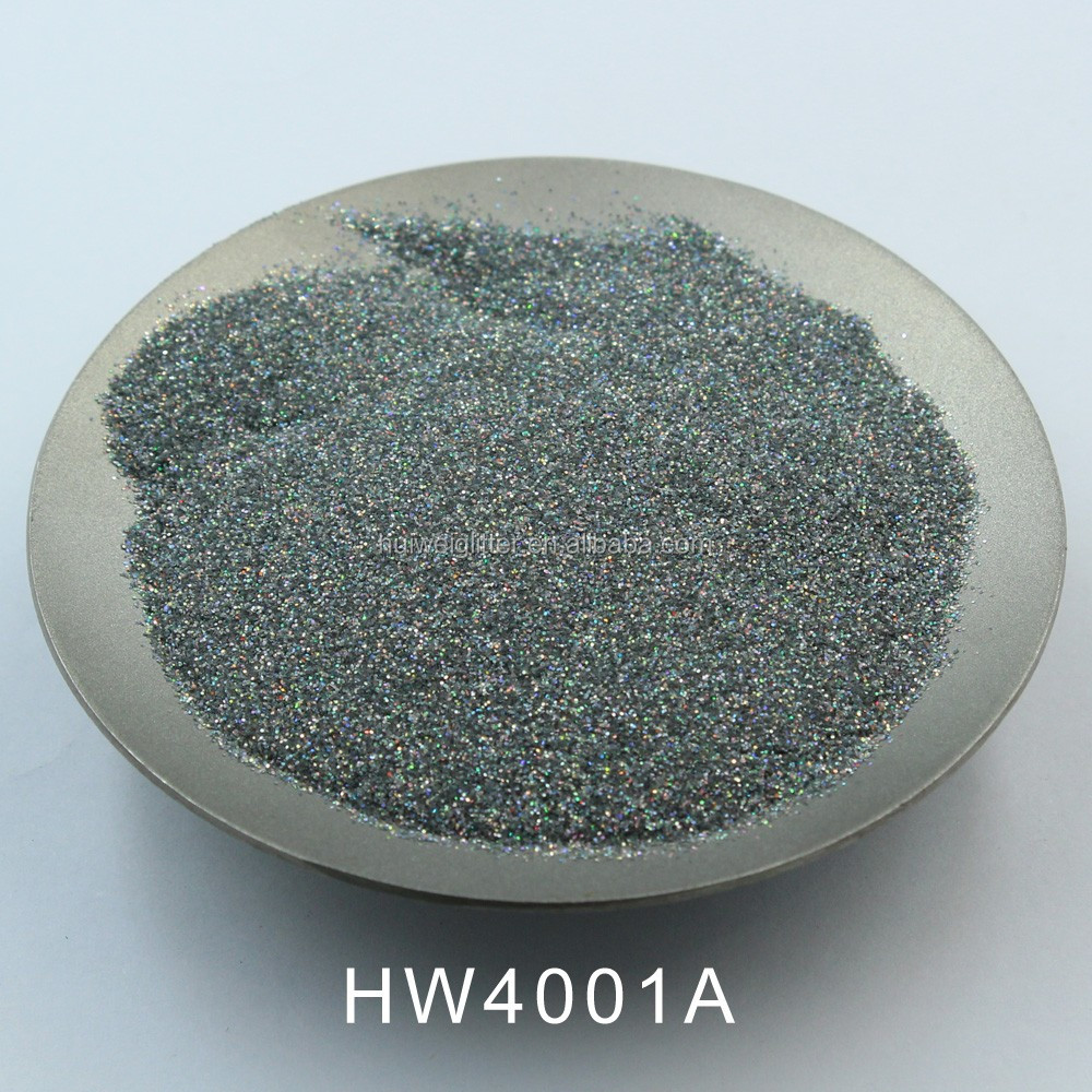 HW4001 A,High quality glitter powder pigment