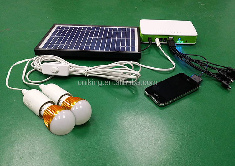 Green energy for small mini 12V solar power system for phone charging