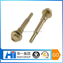 custom high quality brass wheel pin bolt,cotter pin bolt manufacturer