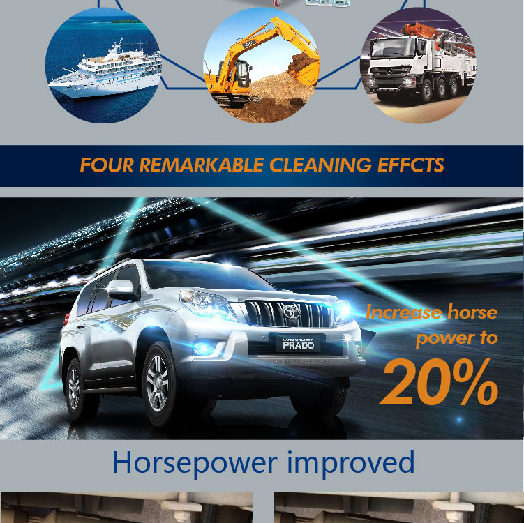 China manufacturer engine caring HHO car carbon cleaner
